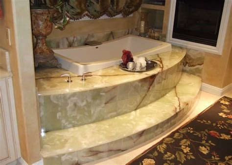Onyx Marble Bathroom   MilleStone Marble & Tile
