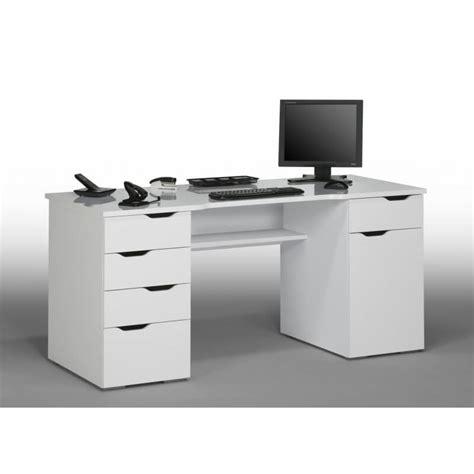 Bureau Laqué Blanc Bureau Informatique Design Laqu 233 Blanc Claudelle