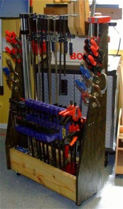 printable plans build  mobile clamp rack