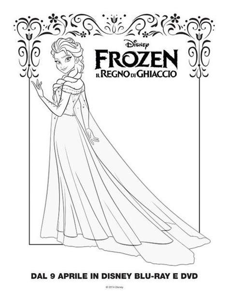 principesse da colorare elsa elsa 2 disegni da colorare gratis disegni da colorare e