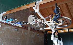Flat Bike Lift : ceiling overhead bike rack for city bike flat bike lift ~ Sanjose-hotels-ca.com Haus und Dekorationen