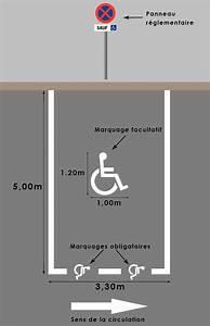 Place De Parking Dimension : accessibilit pmr travaux d 39 am nagement france ligne ~ Medecine-chirurgie-esthetiques.com Avis de Voitures