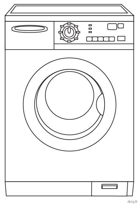 photos d ustensiles de cuisine coloriage à imprimer un lave linge dory fr coloriages
