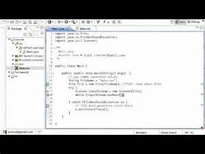 Java Reading a CSV File Tutorial - YouTube