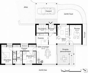 Plan maison sur pilotis ooreka for Plan de maison sur pilotis