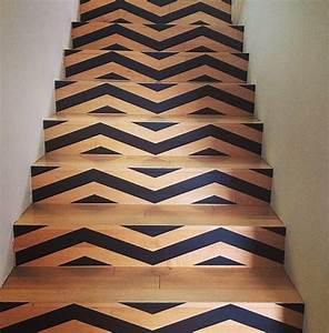 Contre Marche Deco : escaliers et contremarche d corative clem around the corner ~ Dallasstarsshop.com Idées de Décoration