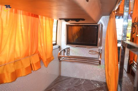 telsang travels  ac sleeper interiors part  biswajit svm chaser