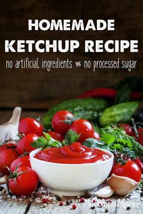 5-Minute Homemade Ketchup Recipe | Wellness Mama