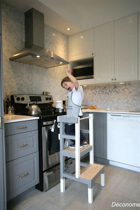 fabriquer un tabouret de cuisine pour enfant déconome