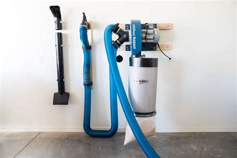 install  dust collection system addicted  diy