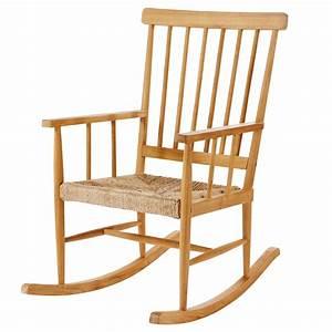 Rocking Chair Maison Du Monde : rocking chair en teck maisons du monde ~ Teatrodelosmanantiales.com Idées de Décoration