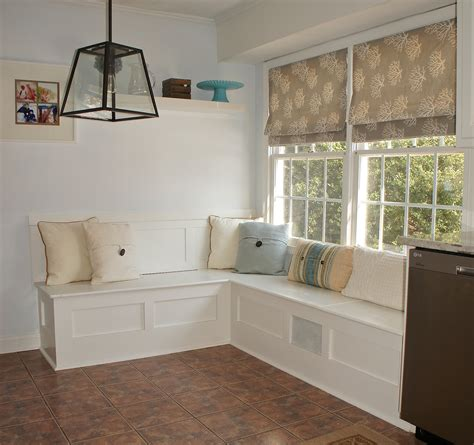 How To Build Kitchen Nook Bench by Built In Breakfast Nook Bench Design Ideas The Decoras