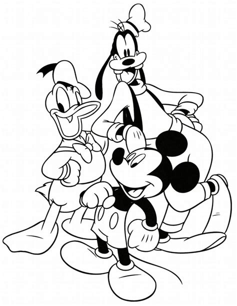 disney characters coloring pages team colors