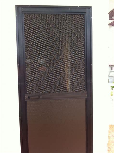 glass door cabinet single swing type screen door on alcoframe profile