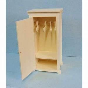 Petite Armoire Penderie : petite armoire penderie miniature pour poup e mannequin ex barbies ~ Preciouscoupons.com Idées de Décoration