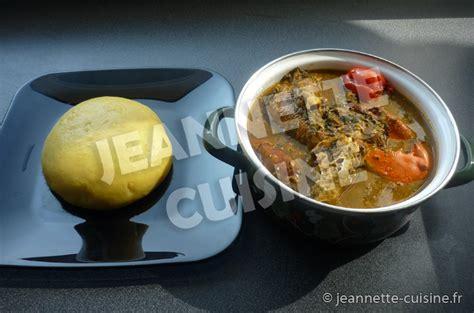 potasse cuisine la sauce n tro plat africain jeannette cuisine