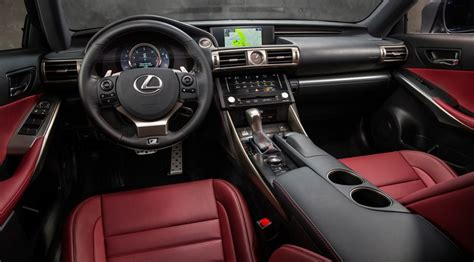 lexus is 250 red interior lexus is250 f sport 2014 review by car magazine