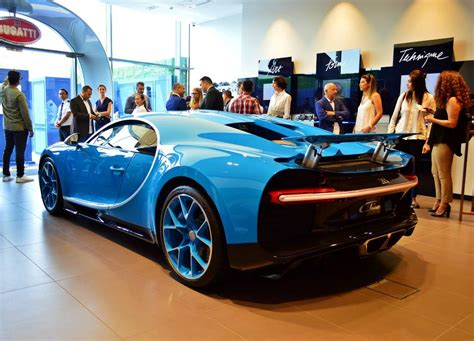 Bugatti's fourth showroom in germany and at the same time its 12th in europe is located near the hamburg airport where a silver example of the the opening of the new bugatti showroom in hamburg completes the exclusive presentation of our dealerships in germany. Bugatti opens its largest showroom in Dubai   UAE - YallaMotor
