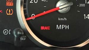 Brake Light And Battery On Nissan Sentra