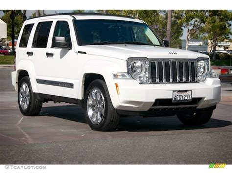 jeep liberty white 2008 stone white jeep liberty limited 4x4 104562575
