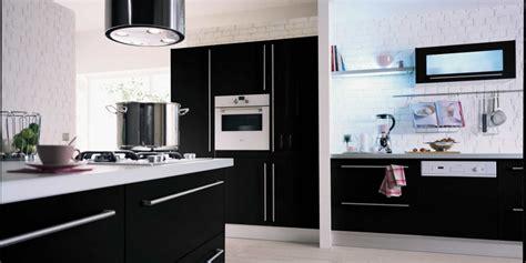 cuisine hygena noir et blanc
