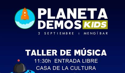 Taller De Música Y Mucha Diversión En El Planeta Demos