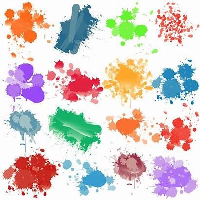 Splatter Paint Brushes Photoshop Clipart Splatters Cliparts