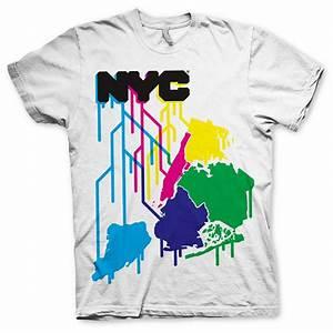 Cool New York City Themed T Shirt Design for Merchandise ...