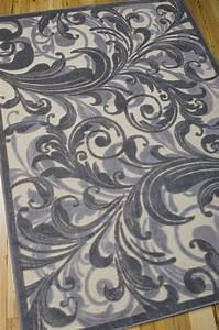 Nourison graphic illusions rug rectangular area rugs for Graphic illusions