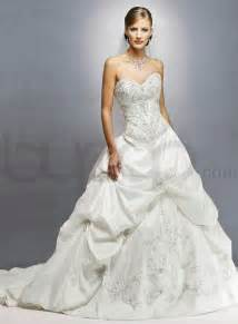 a line wedding dresses tulle strapless sweetheart neckline a line wedding gown ipunya