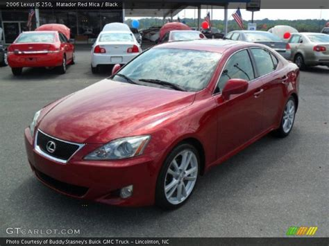 red lexus is 250 2006 2006 lexus is 250 in matador red mica photo no 36716199