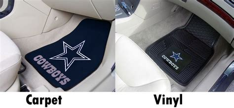 dallas cowboys seat covers and floor mats nfl floor mats seat covers unlimited