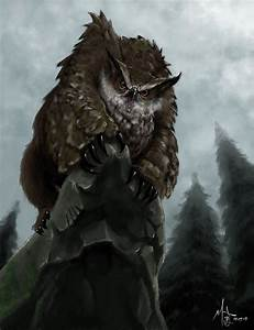Owlbear by chillier17 on DeviantArt