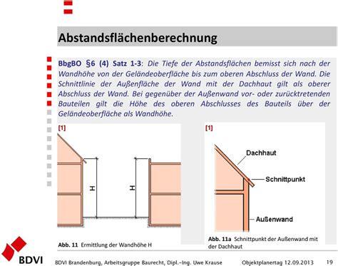 Garage An Nachbargrenze by Abstandsfl 228 Chenrecht Uwe Krause Dipl Ing 214 Bvi Bdvi
