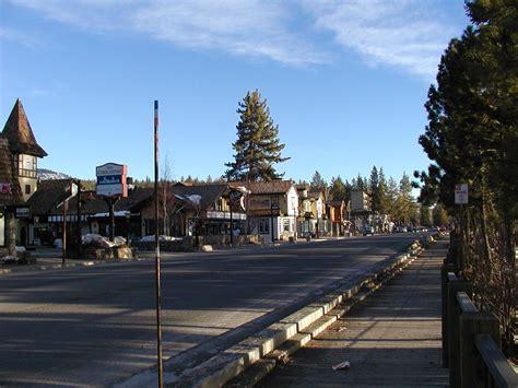 Tahoe City, California - January 13, 2002