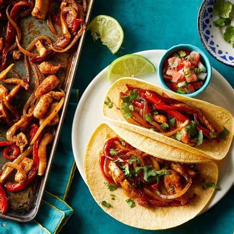 kitchen reviews sheet pan chicken fajitas recipe eatingwell