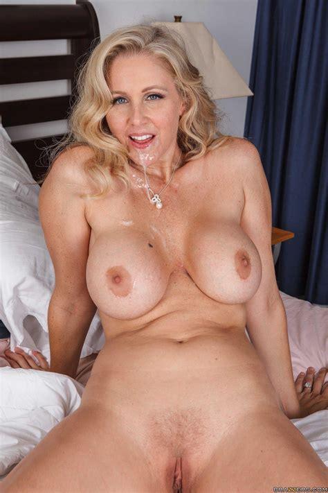 Busty Blonde MILF Julia Ann Enjoys Some Hot Sex In Bed