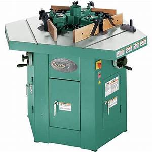 Three Spindle Shaper Grizzly Industrial