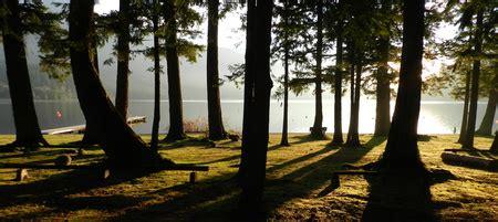 sunnyside campground cultus lake camping garden