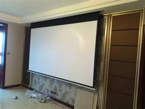 remote control   motorized projection screen