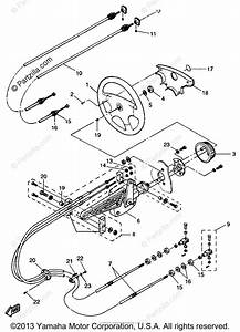 Yamaha Boat 1997 Oem Parts Diagram For Steering Cables