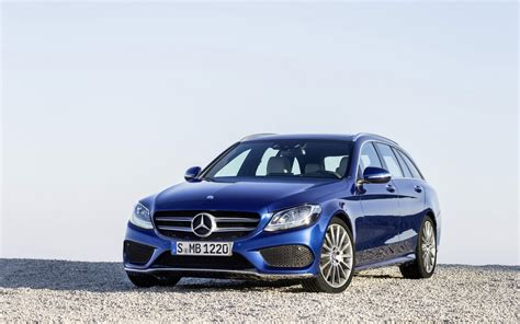 Mercedes C Class Estate 4k Wallpapers by 2015 Mercedes C Class Estate Blue Wallpaper Hd Car