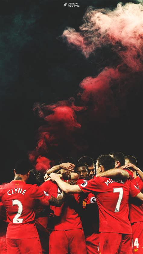 Liverpool UEFA Champions iPhone Wallpapers - Wallpaper Cave