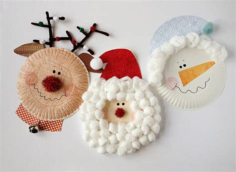 Paper Plate Christmas Crafts