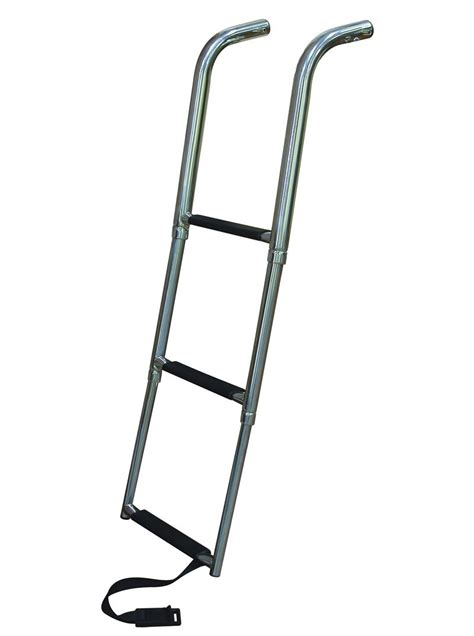 Boat Ladder by 4 Step Platform Telescoping Boat Ladders