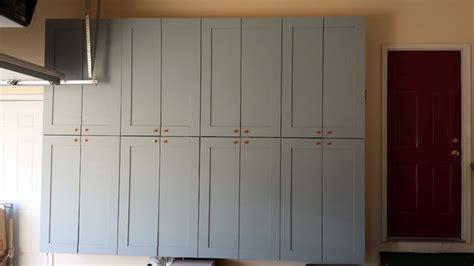 making garage storage cabinets