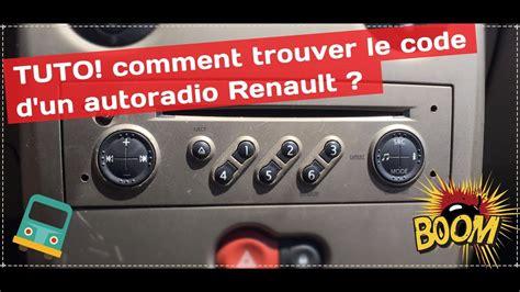Comment Récupérer Le Code Autoradio Renault Gratuitement