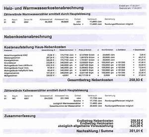 Vordruck Für Nebenkostenabrechnung : falsche z hlerst nde f r nebenkostenabrechnung 2 mietrecht ~ Michelbontemps.com Haus und Dekorationen