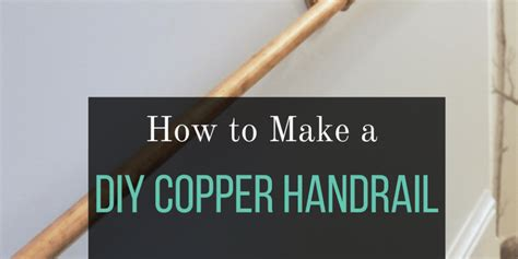 2 pvc pipe easy diy stair handrail made from copper pipe