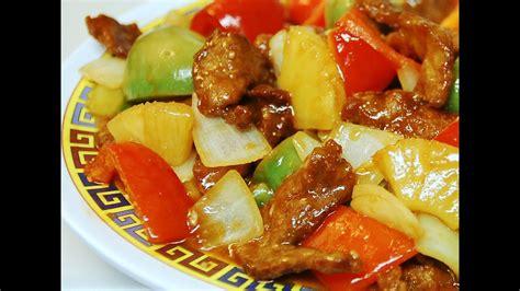 sweet sour pork authentic cantonese